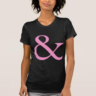 """Signo """"&"""" - rosa remeras"""