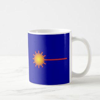 Signo symbol laser tazas de café