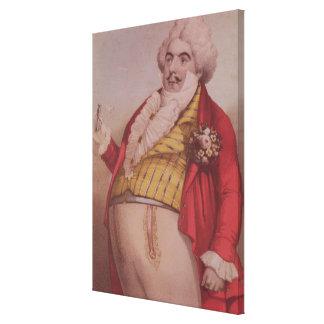 Signor Lablache as Dr. Dulcamara Canvas Print