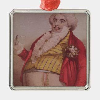 Signor Lablache as Dr. Dulcamara Metal Ornament