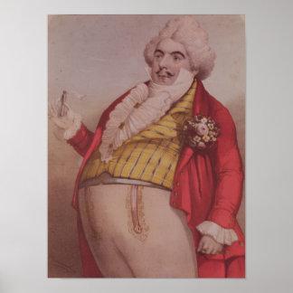 Signor Lablache como Dr Dulcamara Poster