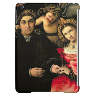 Signor Marsilio Cassotti and his Wife Faustina iPad Air Covers