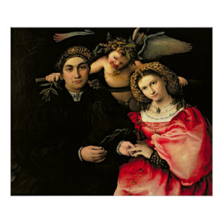 Signor Marsilio Cassotti and his Wife, Faustina Poster