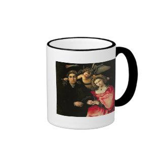 Signor Marsilio Cassotti and his Wife, Faustina Ringer Coffee Mug
