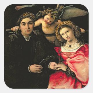 Signor Marsilio Cassotti y su esposa, Faustina Pegatina Cuadrada