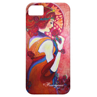 Signora in rosso iPhone 5 covers