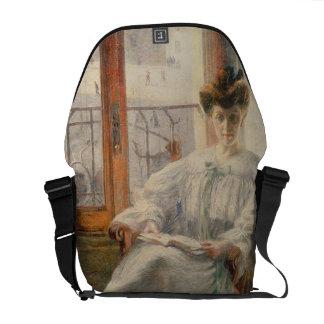 Signora Massimino, 1908 del La (aceite en lona) Bolsa De Mensajeria