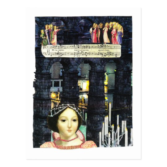 signorina postcard