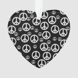 Signos de la paz blancos y negros