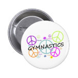 Signos de la paz de la gimnasia pin