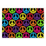 Signos de la paz multicolores múltiples