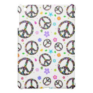 Signos de la paz y flores