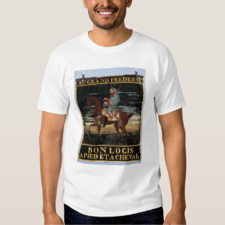 Signpost with Frederick the Great on Horseback Shirt