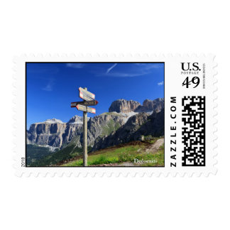signs and Dolomites Stamps