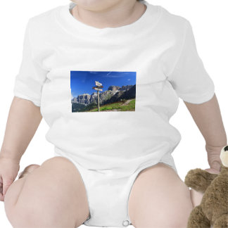 signs and Dolomites Romper
