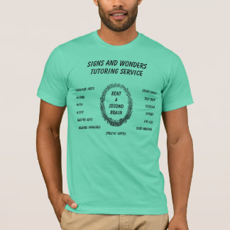 Signs and Wonders Tutoring Service T-Shirt