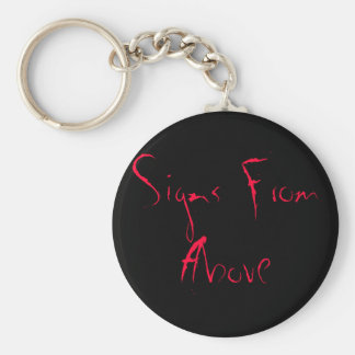 Signs From Above Basic Round Button Keychain