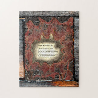 Signs From The Earth Jigsaw Puzzle