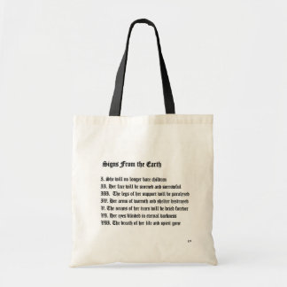 Signs From The Earth Tote Bag