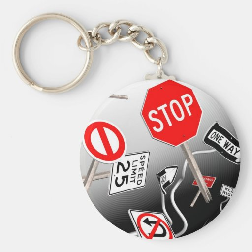Signs Keychains