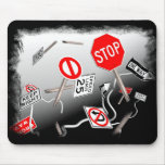 Signs Mouse Pad
