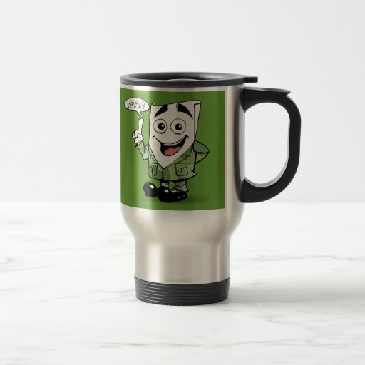 Signs of a Great Résumé: Veterans Edition Coffee Mug