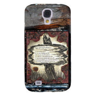 Signs of A Soul In Distress Samsung S4 Case