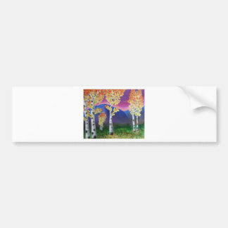 Signs of Autumn Bumper Sticker