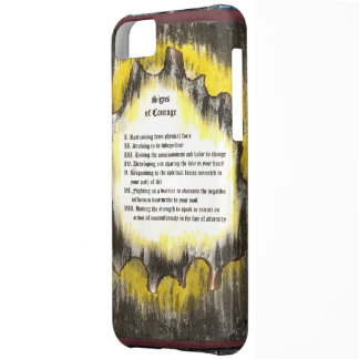 Signs of Courage Case For iPhone 5C