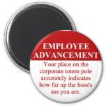 Signs of Employee Advancement (3) Refrigerator Magnet