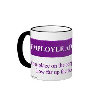 Signs of Employee Advancement Ringer Coffee Mug