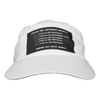 SIGNS OF GETTING OLDER WOVEN WHITE HAT