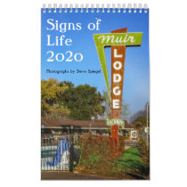 Signs of Life 2020: A Calendar of vintage signage