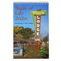 Signs of Life 2020 Calendar of Vintage Neon Signs