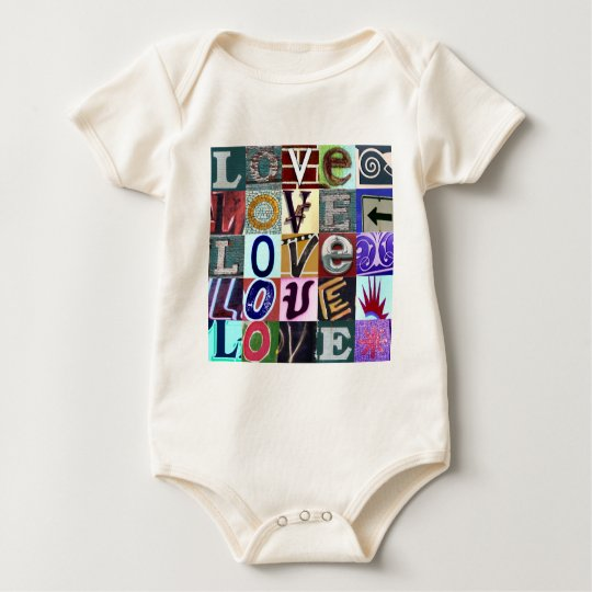 Signs of Love Baby Bodysuit