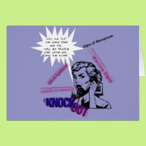 Signs Of Menopause Card