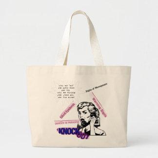 Signs Of Menopause Large Tote Bag