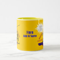 Signs Of Menopause Two-Tone Coffee Mug