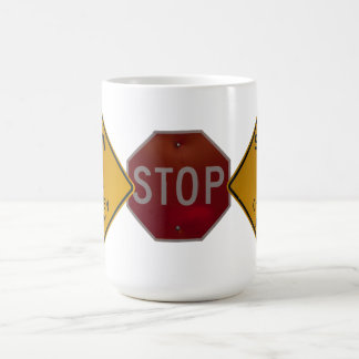 SIGNS OF THE TIMES CLASSIC WHITE COFFEE MUG