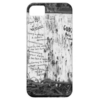 Signs of Weakness iPhone SE/5/5s Case