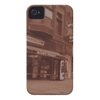 Signs Outside Drugstore iPhone 4 Case-Mate Cases