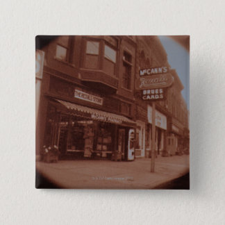 Signs Outside Drugstore Pinback Button