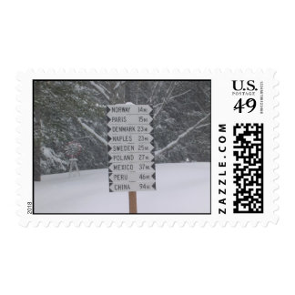 Signs Postage Stamp