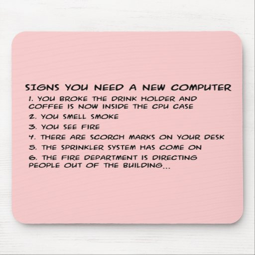 Signs you need a new computer 3 mousepad