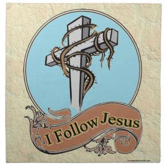 SIGO A JESÚS SERVILLETAS DE PAPEL