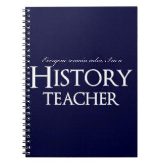 Sigue habiendo la calma que soy profesor de la cuaderno