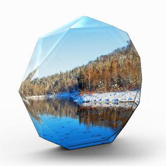 Sigulda'S Gauja River Valley Landscape In Winter Awards