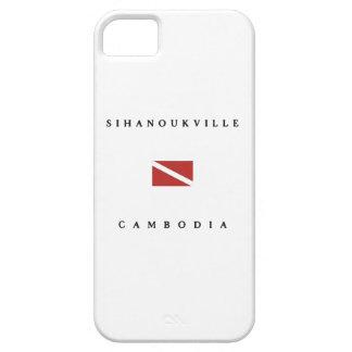 Sihanoukville Cambodia Scuba Dive Flag iPhone 5 Cover