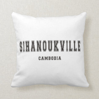 Sihanoukville Camboya Cojín