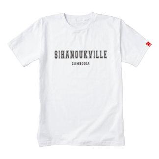 Sihanoukville Camboya Playera Zazzle HEART